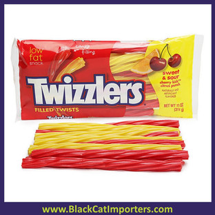 TWIZZLERS Large Bag Sweet & Sour Filled Twists 12ct 11oz