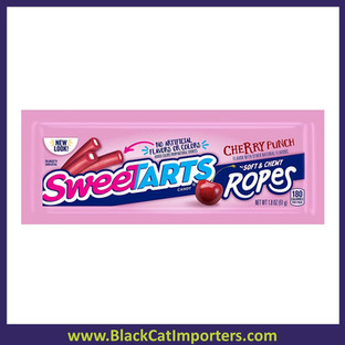 Wonka SweeTart Chewy Ropes | Cherry Punch