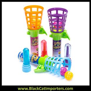 Pop & Catch Game with Lollipop 12-Piece Box