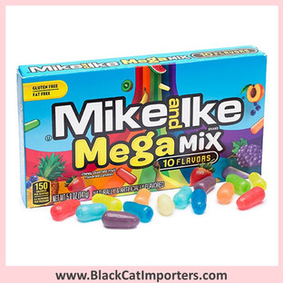 Mike and Ike Candies / Mega Mix / Theater Box