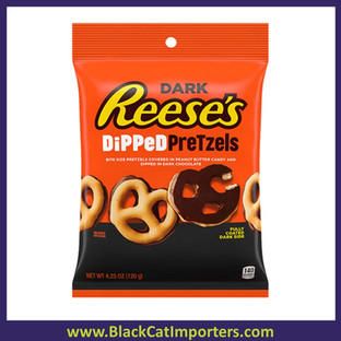 Reese's Dark Chocolate Dipped Pretzels Peg Bag 4.25oz 12ct