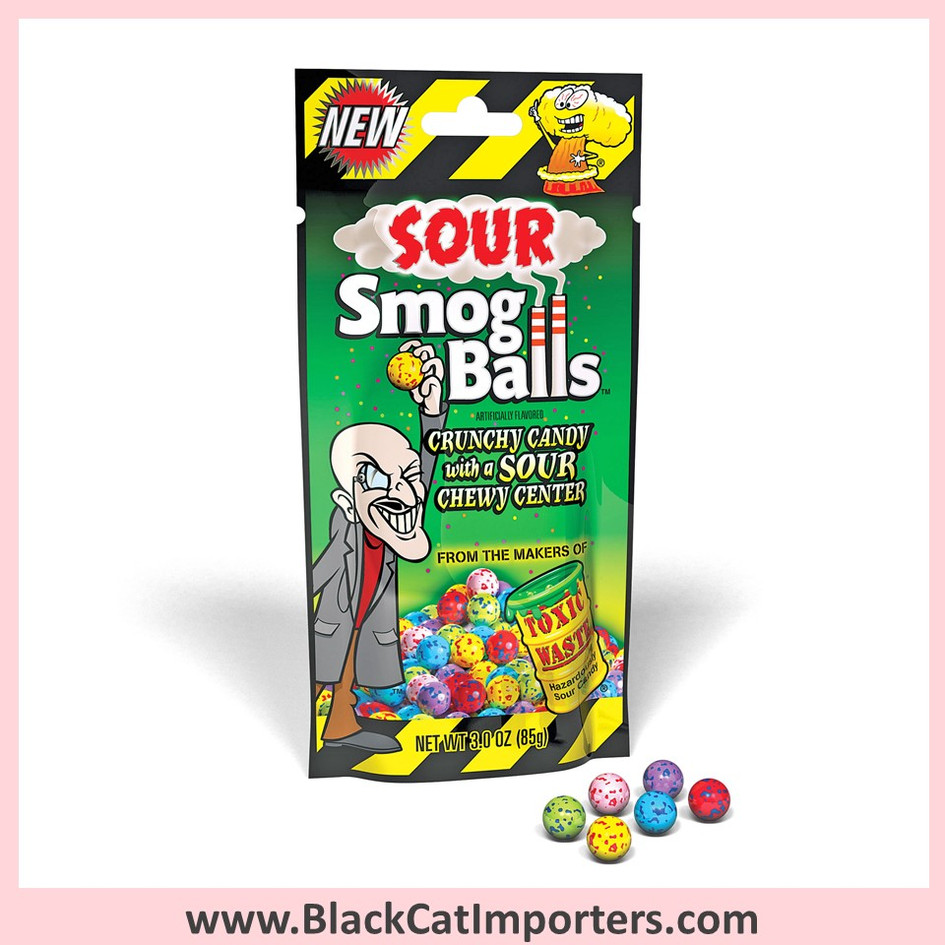 Toxic Waste - Smog Balls / Sour / Peg Bag