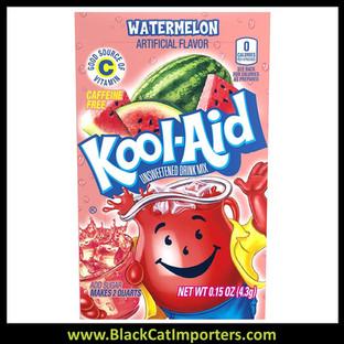Kool-Aid Unsweetened 2QT Watermelon Flavored Drink Mix,  48Unit