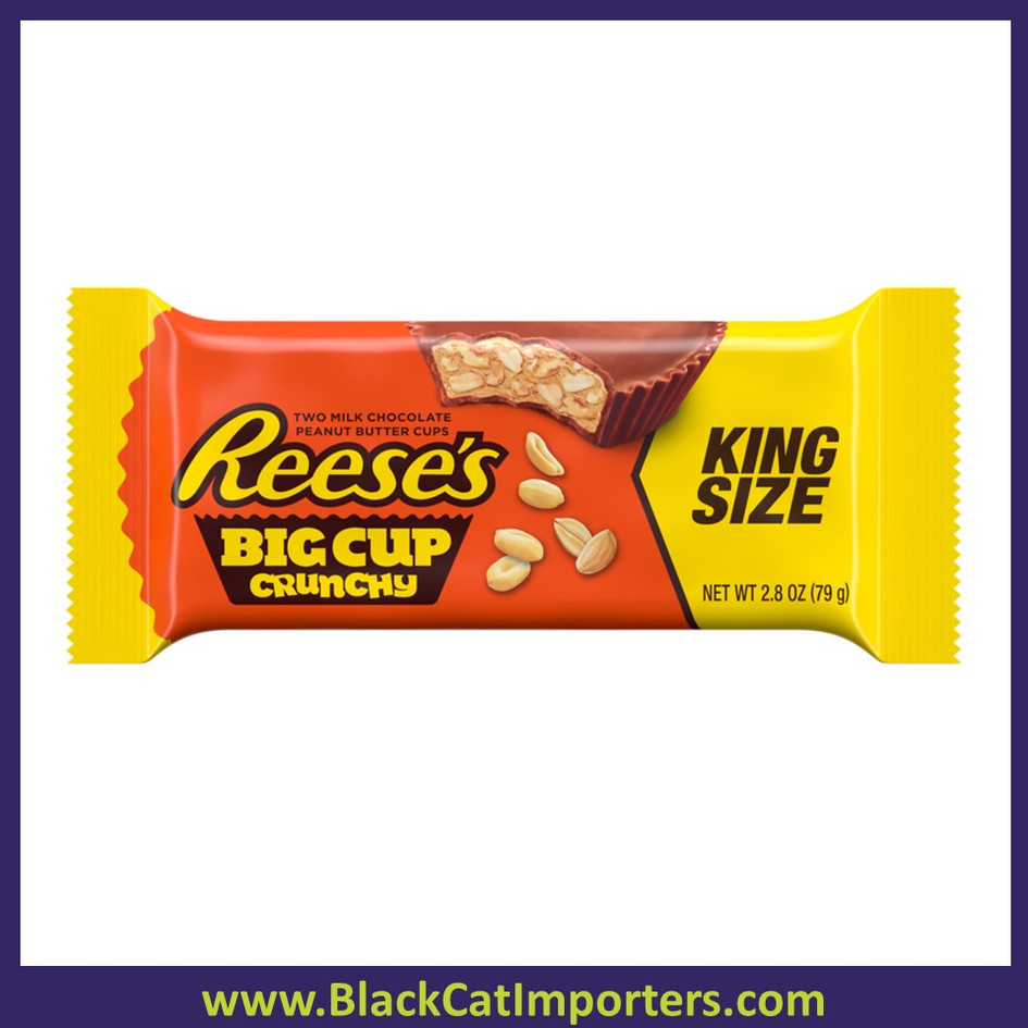 Reese's Big Cup Crunchy with Peanuts King Size 16ct 2.8oz