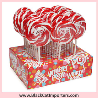 Whirly Pops / 1.5-Ounce / Red (Cherry)