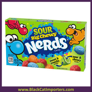Wonka Nerds Big Chewy Sour Candy Theater Box 12/4.25 oz