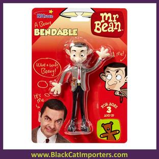 Mr. Bean Bendable 4 Pcs/Pack