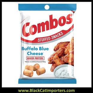 COMBOS Buffalo Blue Cheese Pretzel Baked Snacks 6.3-Ounce Bag