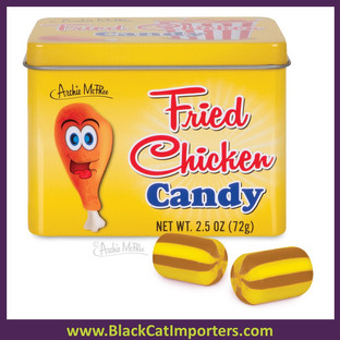 Archie McPhee - Fried Chicken Candy 6ct