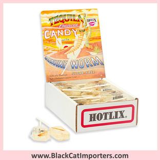 HotLix - Tequila Flavored Worm Lollipop