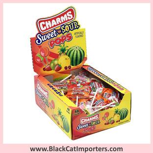 Charms® Sweet n Sour Pops Lollipops - 48-ct (Peanut Free)
