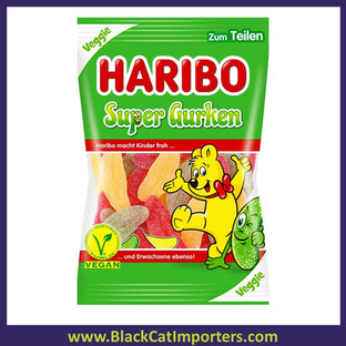 Haribo Super Pickles (Super Gurken)  Vegan 9/200g