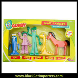 Gumby and Friends Bendable Boxed Set  2Pcs / Pack