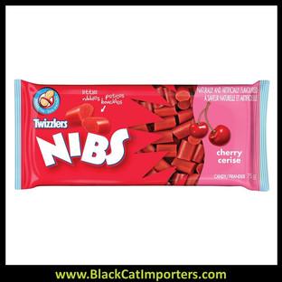 Twizzlers Nibs Licorice Cherry 24/Box