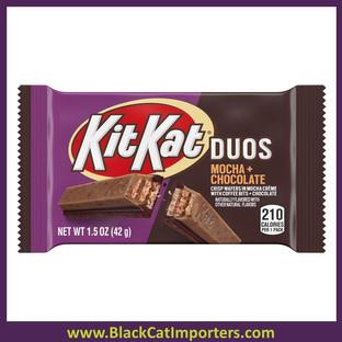 KIT KAT® Duo's Mocha & Dark Chocolate Bar 1.5oz 24ct
