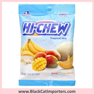 Hi-Chew Fruit Chews / Tropical Mix / Peg Bag
