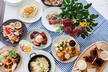 bavorska kuchyna, rebrá, spare ribs, rosenthal, terasa