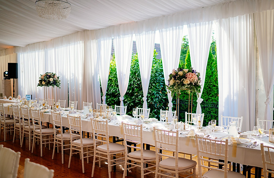 svadba, stan, svadobný stôl, rosenthal, oslava