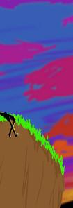 2D Animation: Sunset Music Video