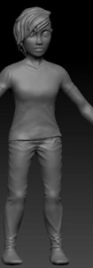 3D Modelling: Major project character model