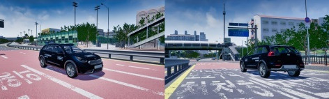 [CES 2020 - 네이버 D2SF] 모라이, 국산 자율주행차 시뮬레이션 기술 선보여