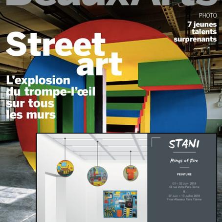 Retrouvez Stani sur Beaux Art Magazine dédié au Street Art