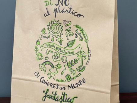 Primera bolsa con certificación forestal y de Comercio Justo de la mano de ENCE, Brandía y Cepade