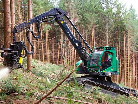 Galicia lidera la compra de maquinaria para trabajos forestales el pasado año 2020