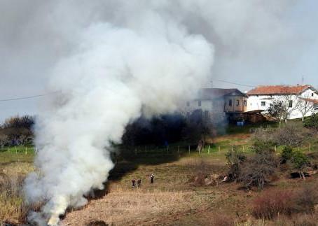 Autorizadas las quemas en terrenos agrícolas y forestales