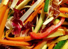 Straccetti di manzo all'aceto balsamico. Un piatto delizioso!