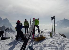 Sci alpinismo a Selva di Cadore - ski mountaineering