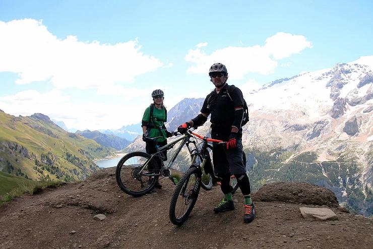 Pacchetto hotel e-bike outdoor dolomiti selva di cadore albergo wild in the dolomiti