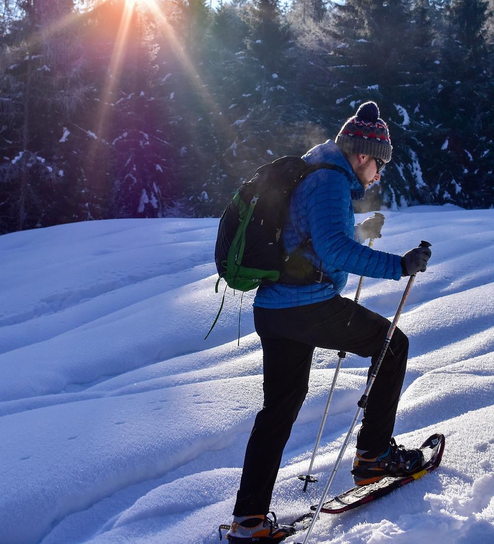 January Escape con le ciaspe nelle Dolomiti di Selva di Cadore Belluno Hotel Ca' del Bosco