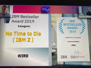 WIRD Group receives Bestseller Award for IBM Z Mainframe Systems in 2019