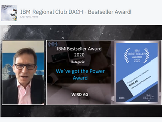 WIRD awarded IBM Power Bestseller of the Year