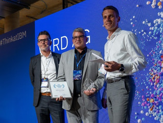 IBM Power Seller Award for WIRD!