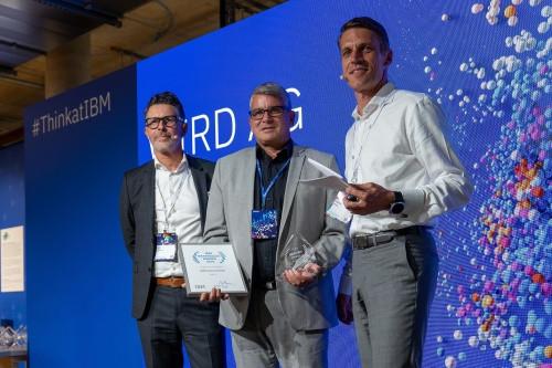 """WIRD awarded at """"Think at IBM"""", Berlin"""