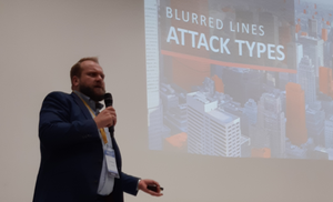 Chris Meidinger, CrowdStrike's Sales Engineering Manager Central Europe talking about how to fend off highly sophisticated attacks