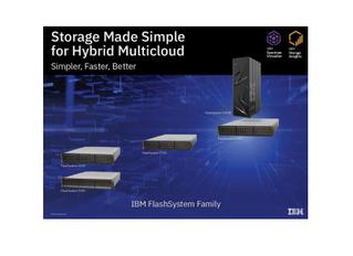 IBM meets customer needs with new FlashStorage Family