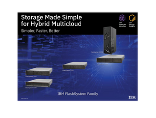 IBM meets customer needs with new FlashStorage Family