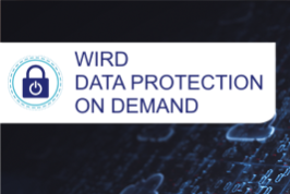 WIRD Group Data Protection on Demand (DPoD) Service now live!