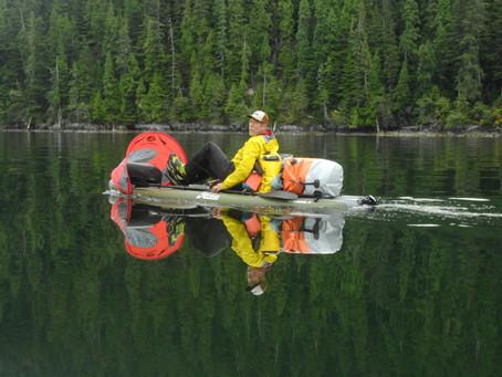 Kayaking North BC