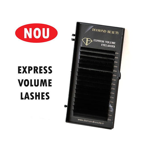 Express Volume Eyelashes- 16 linii MIX