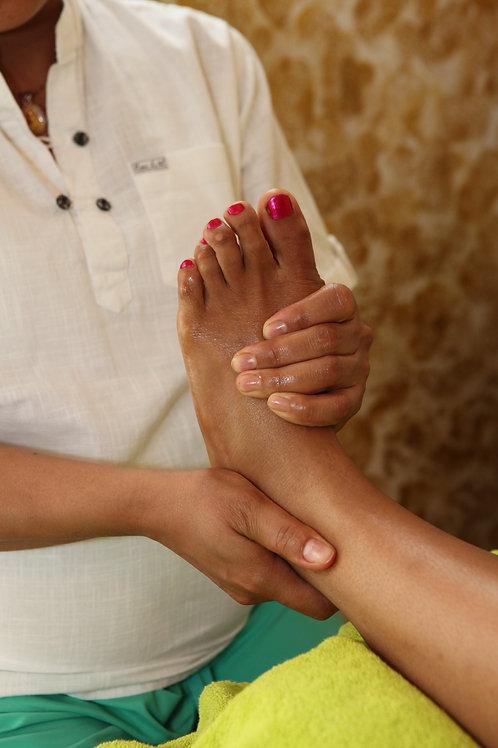 30 min. Fußreflexzonen-Massage
