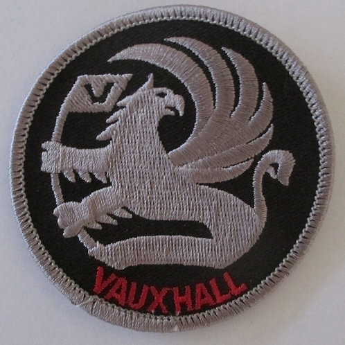 Patch - Griffin Black & Silver