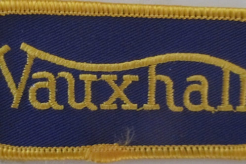 Patch - Vauxhall Blue & Gold (90mmx40mm)