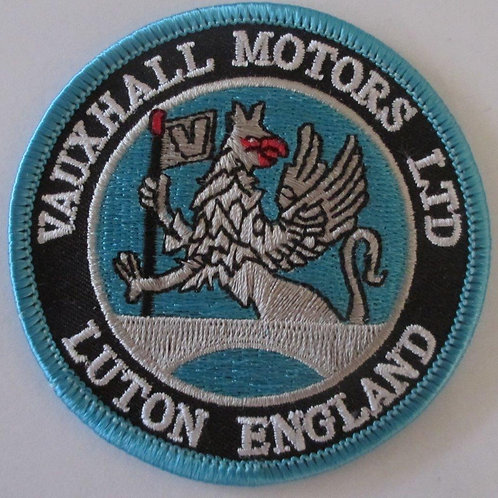 Patch - Vauxhall Luton Blue (75mm Round)