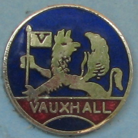 Badge - Vauxhall Small (20mm Round)
