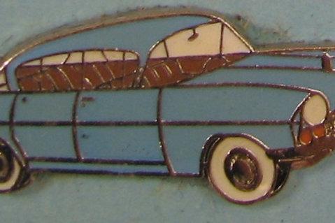 Badge - PA Cresta Blue 30mm