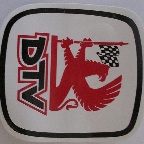 Sticker - DTV (100mm x 100mm)